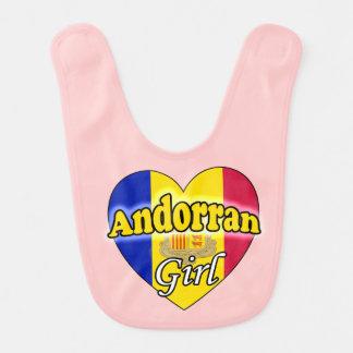 Andorran Girl Baby Bib