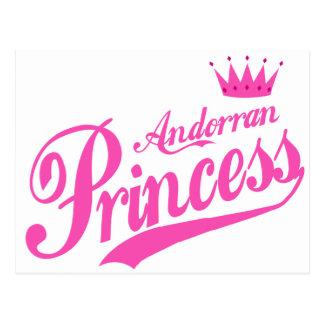 Andorran Princess Postcard