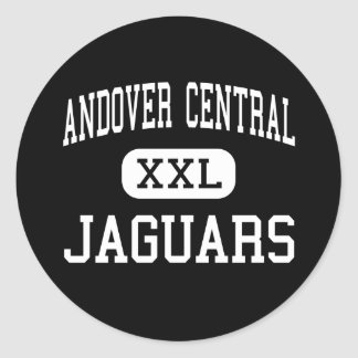Andover Central - Jaguars - High - Andover Kansas Round Stickers