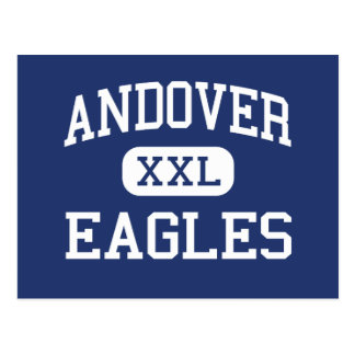 Andover Eagles Elementary Andover Postcard