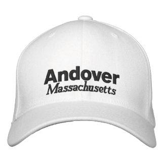 Andover, gorra de Massachusetts Gorras De Béisbol Bordadas
