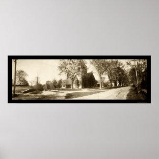Andover, MA Photo 1903 Print
