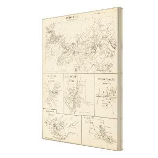 Andover, Merrimack Co Impresión En Lona Estirada