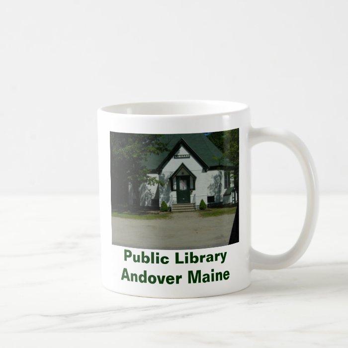 Andover Public Library Coffee Mug