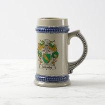 Andrade Family Crest Mug