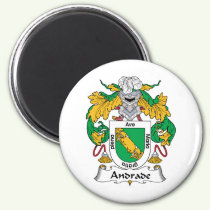 Andrade Family Crest Magnet