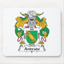 Andrade Family Crest Mousepad