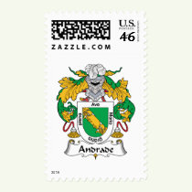 Andrade Family Crest Stamps