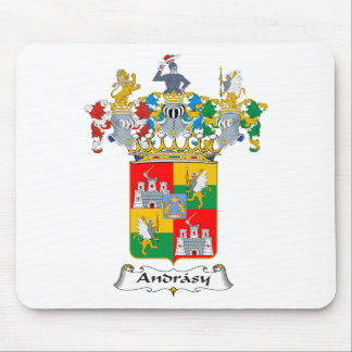 Andrassy #2 Family Hungarian Coat of Arms Mouse Pad