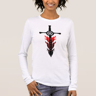 Andraste's Flaming Sword Long Sleeve T-Shirt
