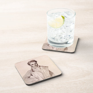 Andre Benoit Barreau, called Taurel by Jean Ingres Drink Coasters