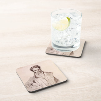Andre Benoit Barreau, called Taurel by Jean Ingres Beverage Coasters