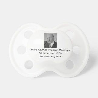 André Charles Prosper Messager Pacifier