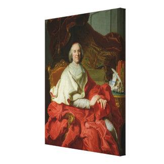 Andre Hercule de Fleury  1728 Canvas Print