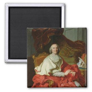 Andre Hercule de Fleury 1728 Imán Cuadrado