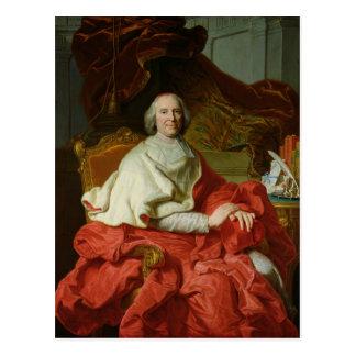Andre Hercule de Fleury  1728 Postcard
