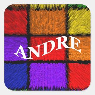 ANDRE SQUARE STICKER