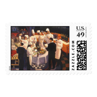 Andrea Boff's Food and Wine Series Stamp