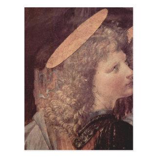 Andrea del Verrocchio muere Taufe Christi, detalle Postales