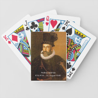 Andrea Gabrieli Bicycle Playing Cards