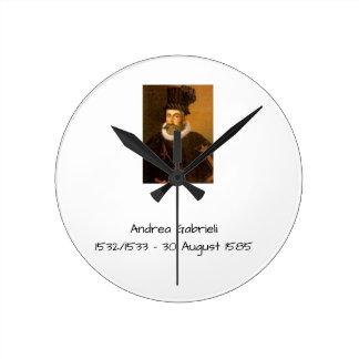 Andrea Gabrieli Round Clock