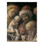 Andrea Mantegna Adoration Of The Magi Post Cards