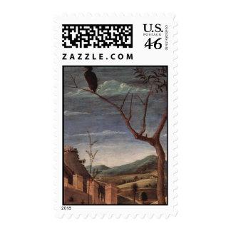 Andrea Mantegna Art Postage Stamp