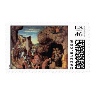 Andrea Mantegna Art Stamp