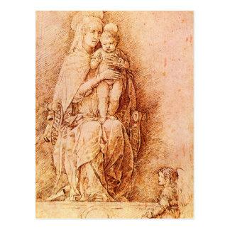 Andrea Mantegna Art Postcard