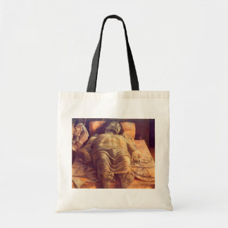 ANDREA MANTEGNA - Lamentation of Christ 1480 Tote Bag