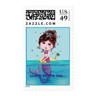 Andrea Mermaid Stamp