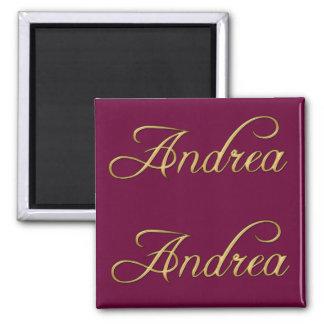 ANDREA Name-Branded Gift Magnet