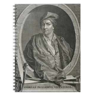 Andrea Palladio (1508-80) grabado por la pica de B Libretas