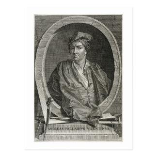 Andrea Palladio (1508-80) grabado por la pica de Postal