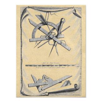 Andrea Palladio Drafting Tools Photo Print