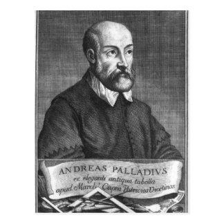 Andrea Palladio grabado por Francisco Postal