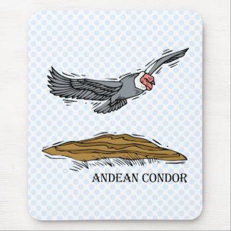 Andrea the Andea Condor Mouse Pad