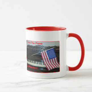 Andrea The Piano For President Mug