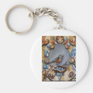 Andrea's Robin Keychain