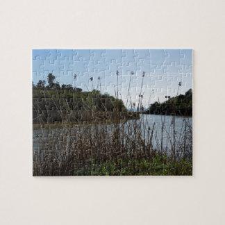 Andree Clark Bird Refuge, Santa Barbara, CA Jigsaw Puzzle
