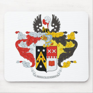 Andreev Family Coat of Arms / Crest Mousepads