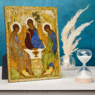 """Andrei Rublev, """"Holy Trinity"""" Plaque"""
