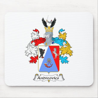 Andreovics Family Hungarian Coat of Arms Mouse Pad