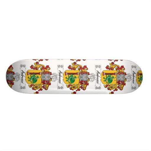 Andreozzi Family Crest Skateboard Decks