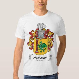 Andreozzi Family Crest T Shirt