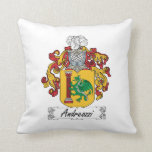 Andreozzi Family Crest Throw Pillows