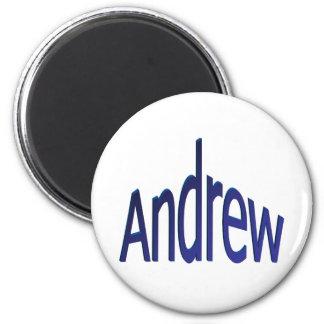 Andrew 2 Inch Round Magnet