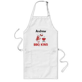 Andrew  BBQ King Long Apron