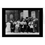 Andrew Carnegie en el instituto 1906 de Tuskegee Tarjeta De Felicitación