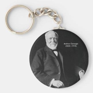 Andrew Carnegie Keychain